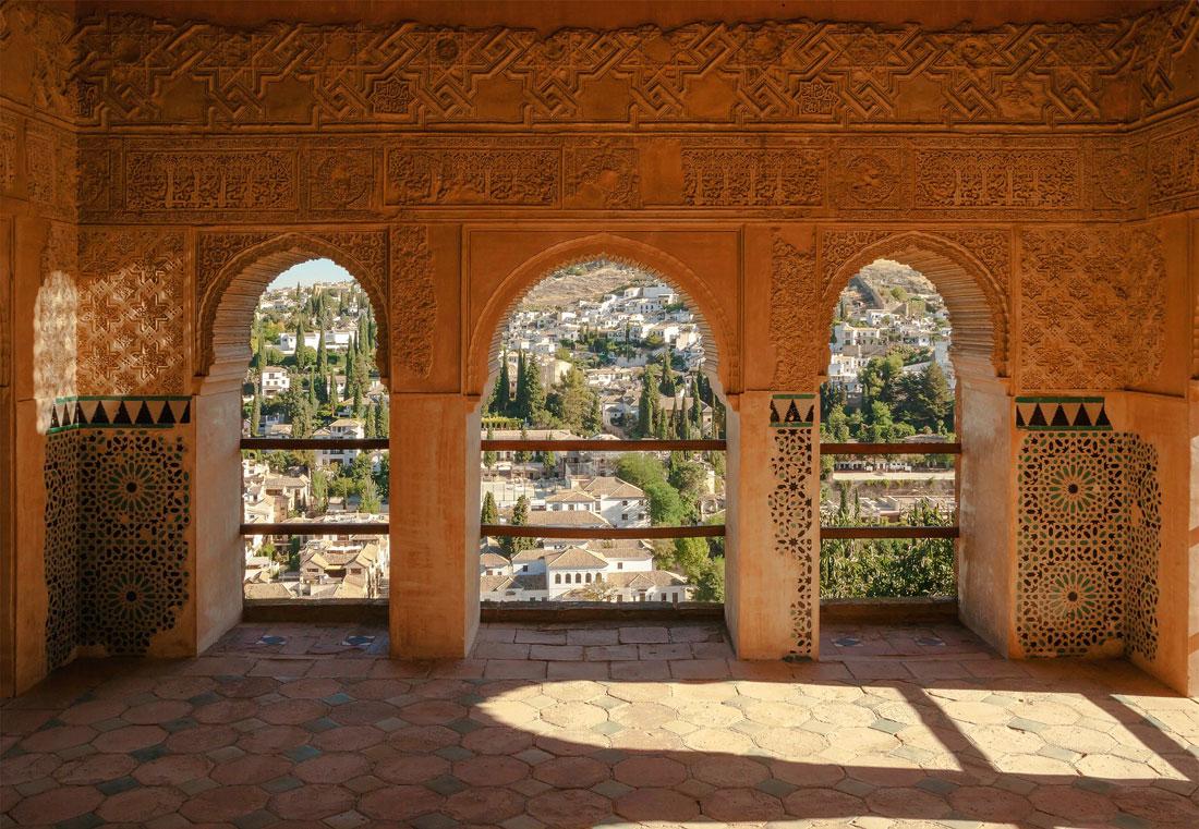 Alhambra Moorse poorten