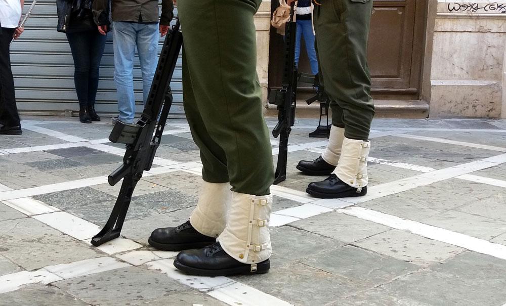 Semana Santa soldaten Malaga