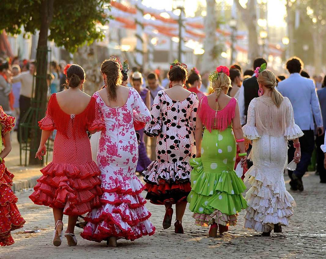 Flamenco jurken
