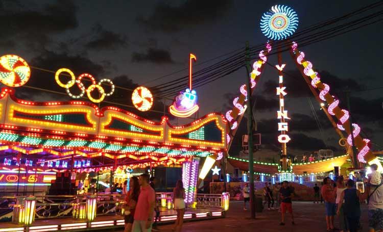 Feria de Noche, Malaga