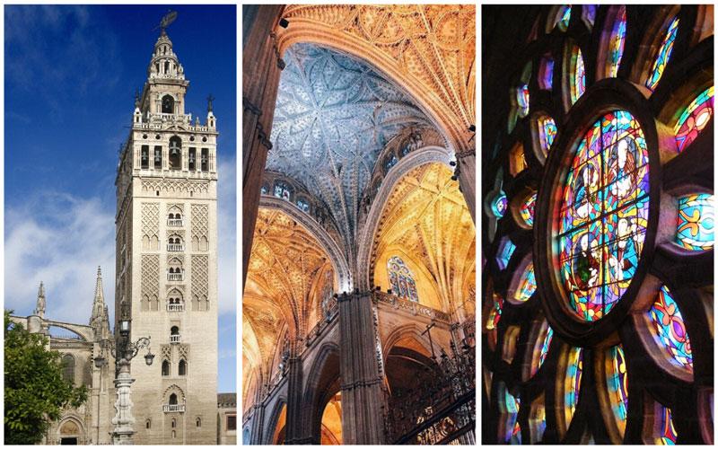 Kathedraal van Sevilla en Giralda toren