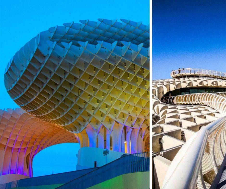 Metro Parasol Sevilla houten bouwwerk