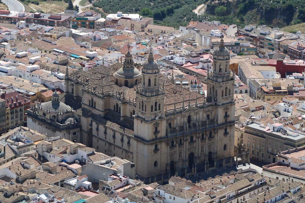 Jaen Kathedraal in Andalusië